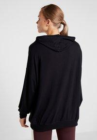 Cotton On Body - LONG LINE SPRING HOODIE - Hoodie - black - 2