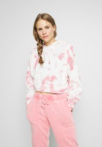Cotton On Body - CROPPED HOODIE - Mikina skapucí - rose sangria - 0