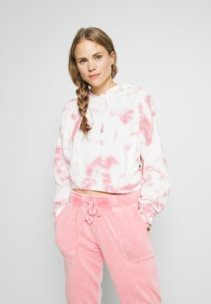 CROPPED HOODIE - Jersey con capucha - rose sangria