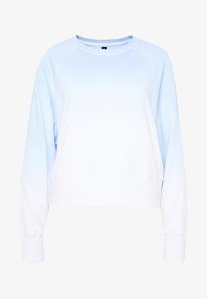 RAGLAN LONG SLEEVE CREW - Sweatshirt - dip dye skye blue