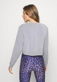 Cotton On Body - MATERNITY CROSS OVER CREW - Sweatshirt - grey marle - 2