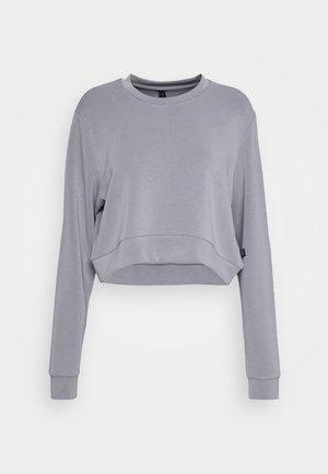 MATERNITY CROSS OVER CREW - Sweatshirt - grey marle