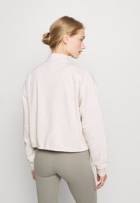 Cotton On Body - HALF ZIP CREW - Sweater - oatmeal marle - 2