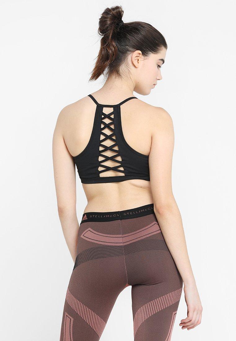 Cotton On Body - CRISS CROSS STRAPPY CROP - Sportovní podprsenka - black