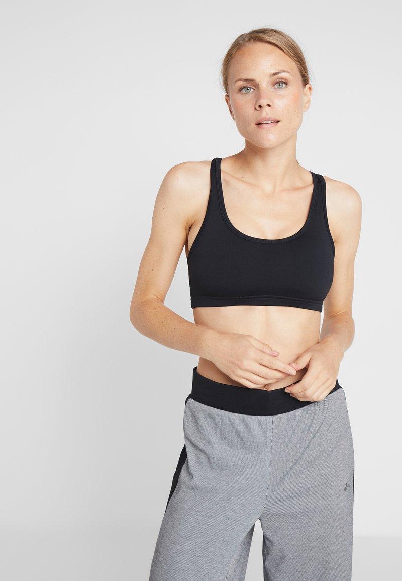 Cotton On Body - WORKOUT CARDIO CROP - Sports bra - black
