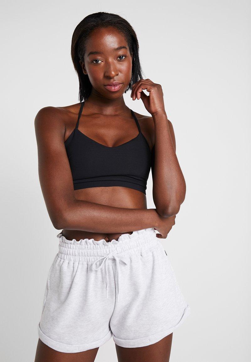 Cotton On Body - STRAPPY CROP - Sports bra - black