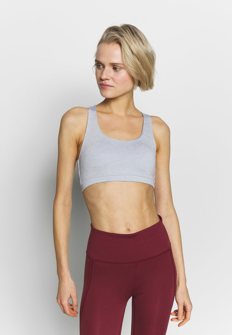 Cotton On Body - STRAPPY CROP - Sujetador deportivo - grey marle