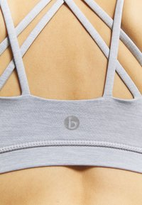 Cotton On Body - STRAPPY CROP - Sujetador deportivo - grey marle - 3