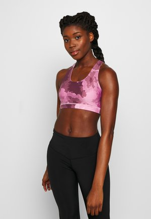 WORKOUT CUT OUR CROP - Sport BH - washed rose