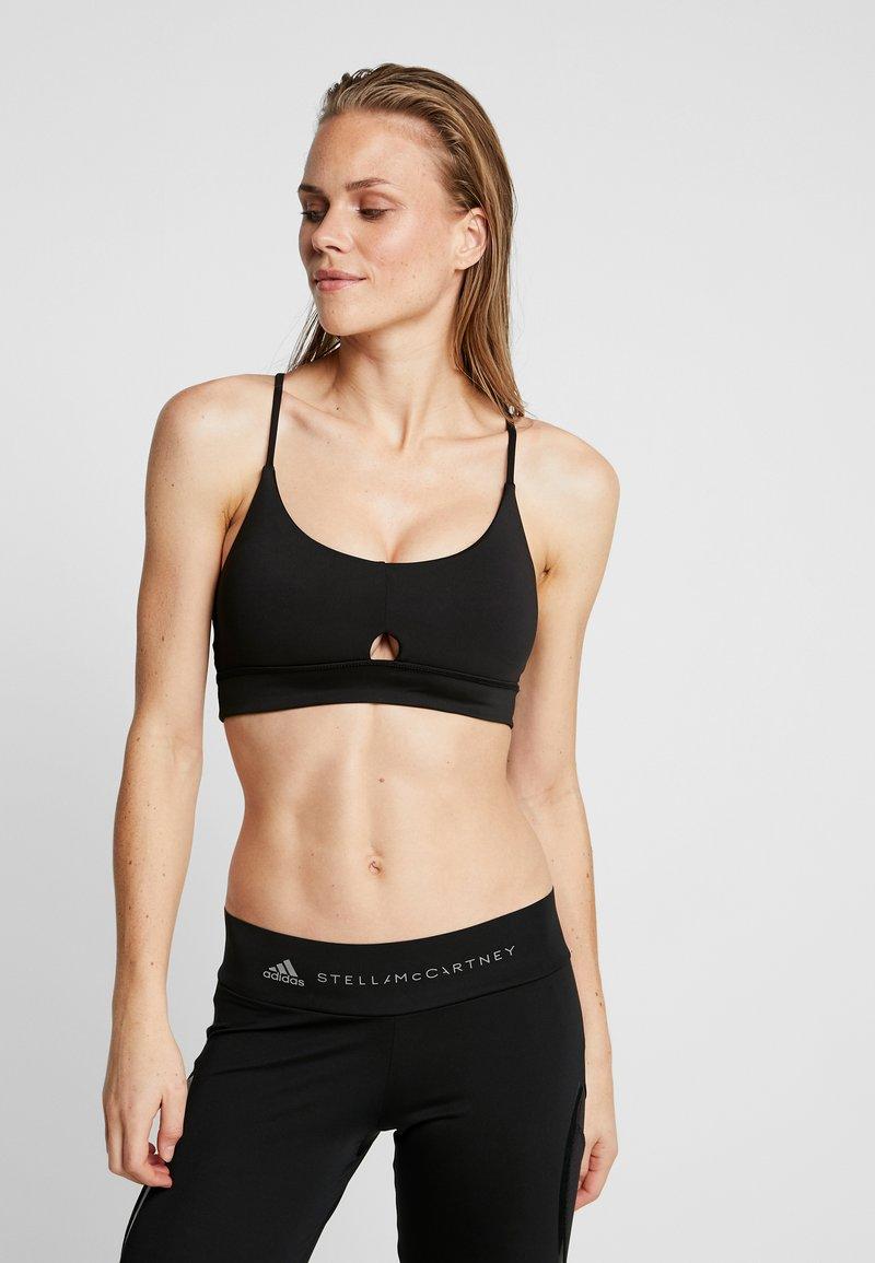 Cotton On Body - GYM TO SWIM STRAPPY CROP - Reggiseno sportivo - black