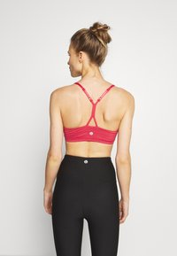Cotton On Body - SO SOFT RACER CROP - Sport BH - rio red marle - 2