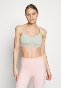 Cotton On Body - SO SOFT RACER CROP - Urheiluliivit - aloe - 0