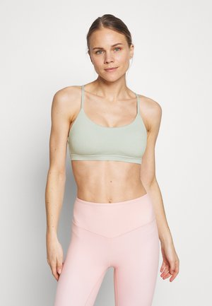 SO SOFT RACER CROP - Urheiluliivit - aloe