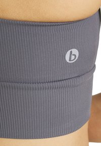 Cotton On Body - CUT OUT CROP - Sports bra - dark grey - 4
