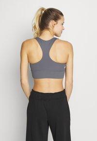 Cotton On Body - CUT OUT CROP - Sports bra - dark grey - 2