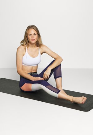 YOGA CROP 2 PACK - Sport BH - black/white