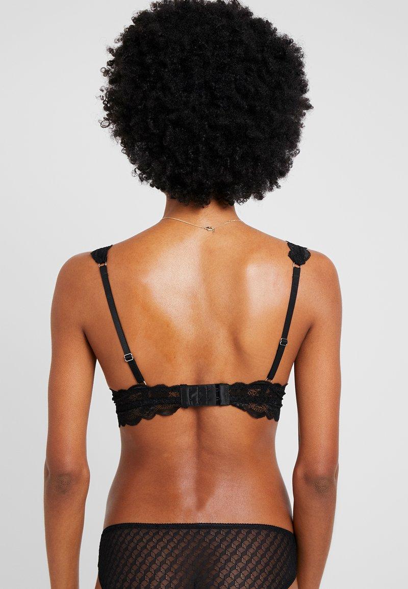 Cotton On Body - CINDY LONGLINE WIREFREE - Trojúhelníková podprsenka - black