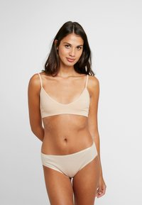 Cotton On Body - SEAMFREE BRALETTE 2PACK - Triangel-BH - latte - 0