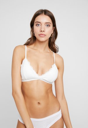 OLIVIA BRALETTE - Triangle bra - cream