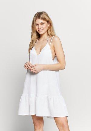 DROP BEACH DRESS - Ranta-asusteet - white