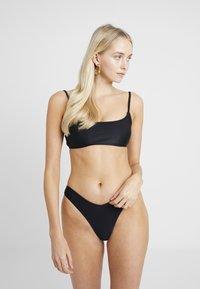 Cotton On Body - SCOOP CROP SET - Bikini - black - 0