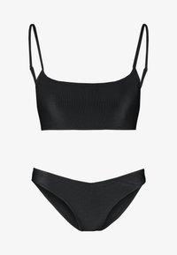 Cotton On Body - SCOOP CROP SET - Bikini - black - 4
