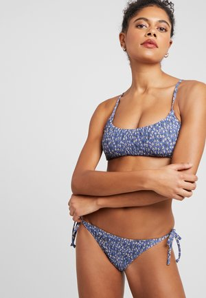 SCOOP CROP BRALETTE SET - Bikini - blue