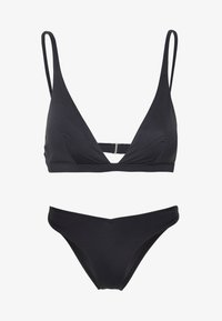 Cotton On Body - RECYCLED HIGH APEX TRIANGLE SET - Bikini - black - 5