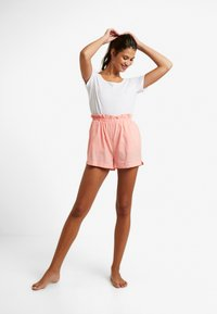 Cotton On Body - PAPERBAG SHORT - Spodnie od piżamy - cameo pink - 4