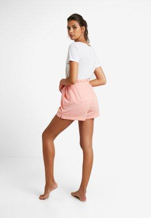 PAPERBAG SHORT - Pyžamový spodní díl - cameo pink