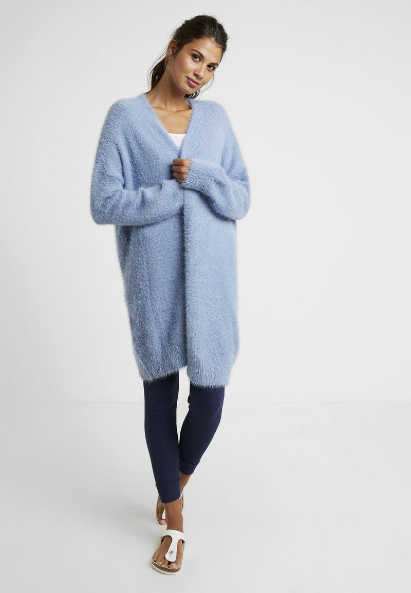 Cotton On Body - LONGLINE - Strickjacke - faded