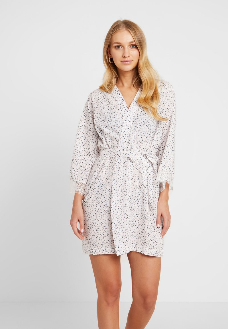 Cotton On Body - TRIM GOWN - Accappatoio - white