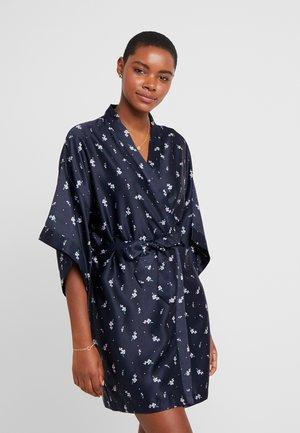 KIMONO GOWN - Dressing gown - navy