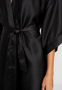Cotton On Body - KIMONO GOWN - Badjas - black - 5