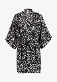 Cotton On Body - KIMONO GOWN - Badjas - splatter daisy/black - 3