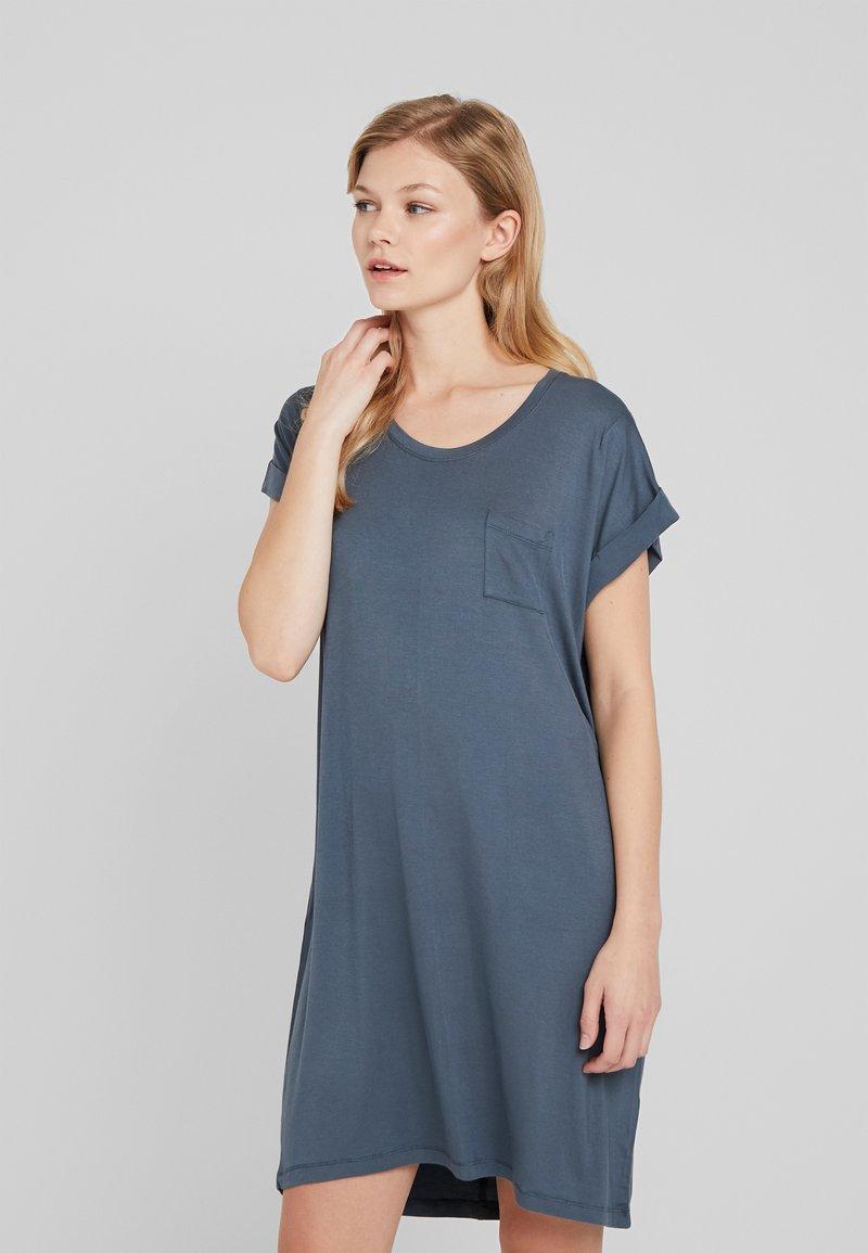 Cotton On Body - SLEEP RECOVERY CAP SLEEVE NIGHTIE - Noční košile - iron