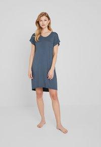 Cotton On Body - SLEEP RECOVERY CAP SLEEVE NIGHTIE - Noční košile - iron - 1