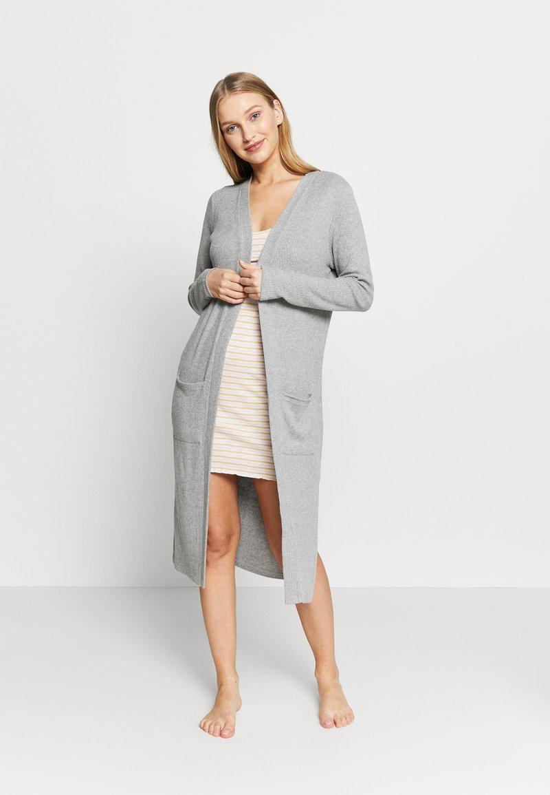 Cotton On Body - SUPERSOFT CARDIGAN - Cardigan - grey marle