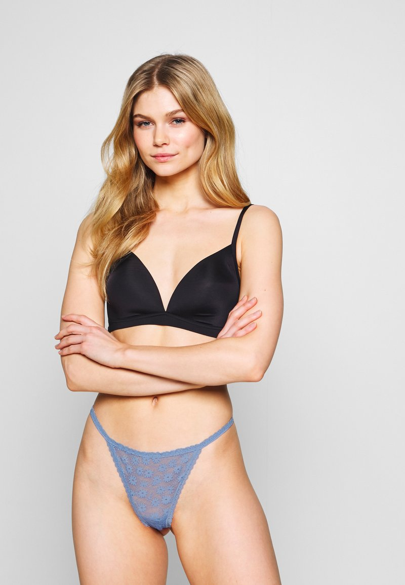 Cotton On Body - DAISY 3 PACK - String - black/cream/starlight blue