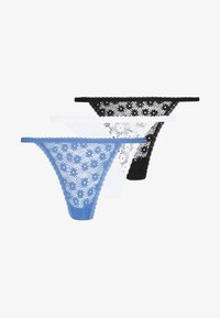 Cotton On Body - DAISY 3 PACK - String - black/cream/starlight blue - 3
