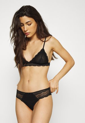 ALICE BRALETTE BRASILIANO SET - Trekants-bh'er - black