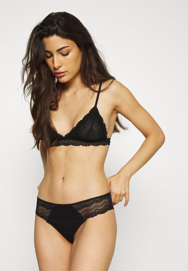 ALICE BRALETTE BRASILIANO SET - Triangel BH - black