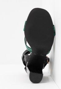 co wren - Sandály na vysokém podpatku - green - 6