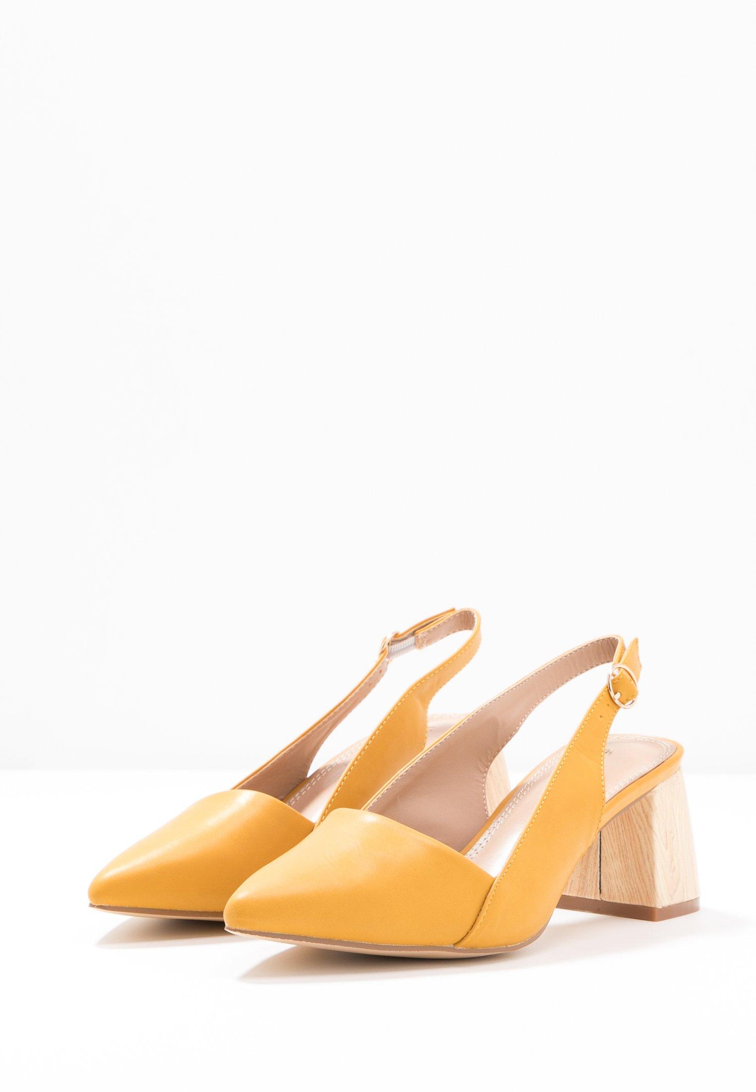 co wren - Classic heels - mustard