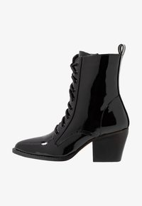 co wren - Lace-up ankle boots - black crush - 1