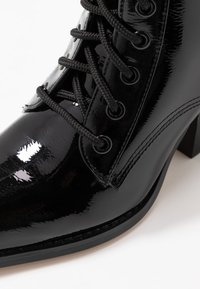 co wren - Lace-up ankle boots - black crush - 2