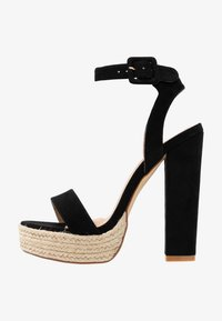 co wren wide fit - High heeled sandals - black - 1