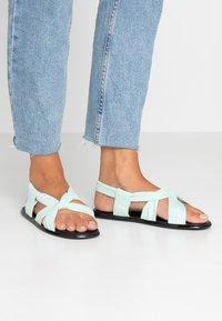co wren wide fit - Sandals - green - 0