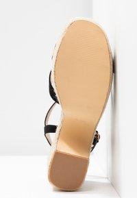 co wren wide fit - High heeled sandals - black - 6