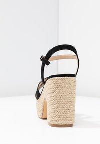 co wren wide fit - High heeled sandals - black - 5